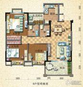 封开碧桂园3室2厅2卫80--150平方米户型图
