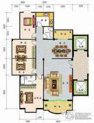 怡景雅苑4室2厅2卫0平方米户型图