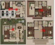 高科紫微堂4室2厅5卫545平方米户型图