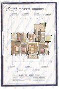 汕头碧桂园4室2厅3卫0平方米户型图