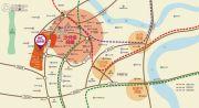 融汇温泉城商业交通图