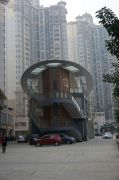 台湾街外景图