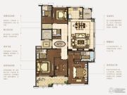 石湖天玺4室2厅4卫233平方米户型图