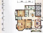 府前雅居苑3室2厅2卫116平方米户型图