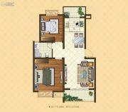 格林悦城2室2厅1卫78平方米户型图