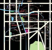 蓝天水岸花园交通图