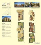 金潮铂金公馆3室3厅4卫385--390平方米户型图