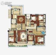 江湾城4室2厅4卫280平方米户型图