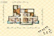 恒基雍翠名门4室2厅2卫0平方米户型图