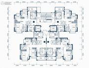 东莞恒大滨江左岸3室2厅2卫111平方米户型图