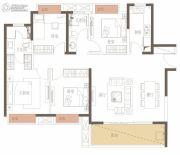 新力花园4室2厅2卫136平方米户型图