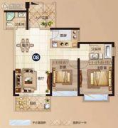 太平洋国际2室2厅2卫89平方米户型图