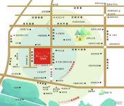 香洲名都交通图