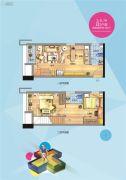 福州万家广场0室0厅0卫38平方米户型图
