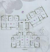岭南林语105--139平方米户型图
