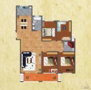 友谊嘉御龙庭4室2厅2卫196平方米户型图