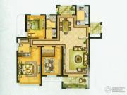 水绘绿源3室2厅2卫152平方米户型图