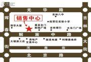 华茂依山君庭交通图
