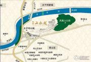 绿地・山水城交通图