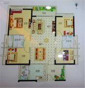越秀滨海御城4室2厅2卫138平方米户型图