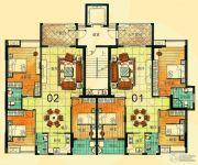 尚景康园127--128平方米户型图