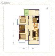 海南旅居地产2室2厅1卫0平方米户型图