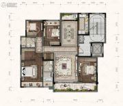 融创碧桂园望江府4室2厅2卫0平方米户型图