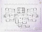 锦绣国际花城3室2厅2卫108平方米户型图