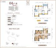 尚悦名都4室2厅1卫128平方米户型图