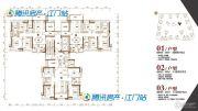 保利大都会5室2厅2卫120--140平方米户型图