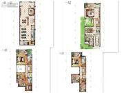 鼎峰源著4室2厅4卫0平方米户型图