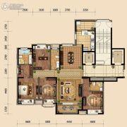 金地悦峰4室2厅3卫174平方米户型图