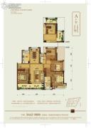 龙湖武林九里4室2厅2卫0平方米户型图