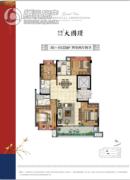 保利万兆・大国�Z4室2厅2卫0平方米户型图