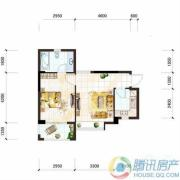 雅居乐十里花巷1室1厅1卫50平方米户型图