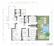 曦园3室2厅1卫119平方米户型图