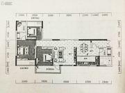 鸿达.金域世家3室2厅2卫121平方米户型图