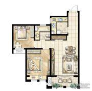 尼德兰花园2室1厅1卫0平方米户型图