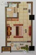 天中国际1室1厅1卫0平方米户型图