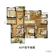 景瑞御江山3室2厅2卫115平方米户型图