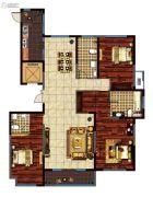 鸿泰・花漾城3室2厅3卫197平方米户型图