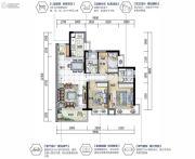 沙田碧桂园3室2厅2卫0平方米户型图