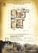 春藤小镇2室2厅2卫108平方米户型图