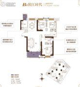 融侨城3室2厅2卫118--119平方米户型图