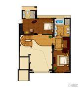 昆仑公馆4室2厅3卫310平方米户型图