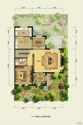 香江别墅II355平方米户型图
