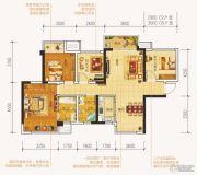 中海国际社区4室2厅2卫98平方米户型图