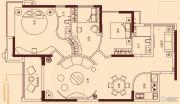 充耀盛荟2室4厅2卫133平方米户型图