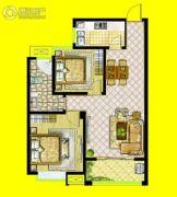 安泰・未来城2室2厅1卫92平方米户型图