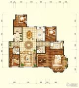 天润・香墅湾1号3室2厅3卫262平方米户型图